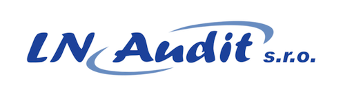 Logo LN – Audit s.r.o., Louny